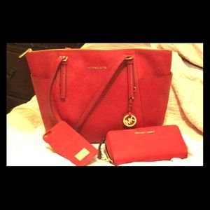 Michael Kors purse wallet and iPhone case